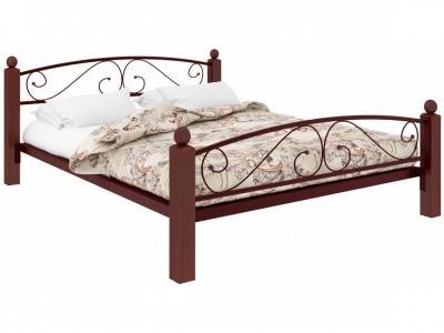Кровать Вероника Lux Plus коричневая
