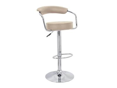 Барный стул Орион WX-1152 экокожа бежевый