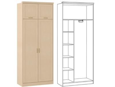 Шкаф 2 дверный Флорида 1 504