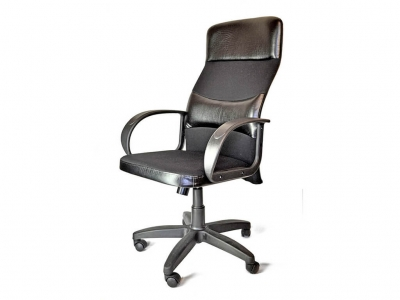 Офисное кресло Вулкан в сетке чёрный
