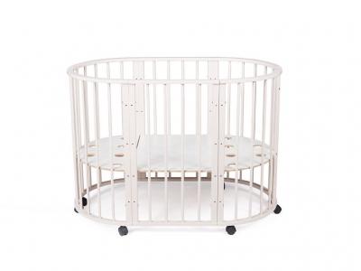 Кроватка для новорожденных трансформер Sleepy 8 в 1 Бежевая