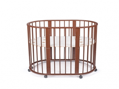 Кроватка для новорожденных трансформер Sleepy 8 в 1 Венге