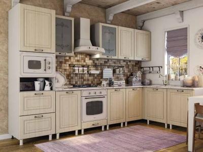 Кухня Прованс натуральный распил