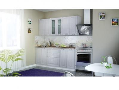 Кухня Патина серебро 2000