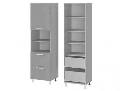 Шкаф для встраиваемой техники 600х2140х550 6П1 БТС МДФ