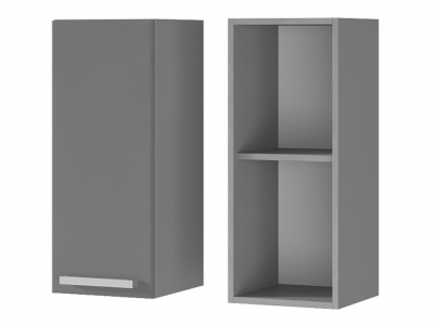 Шкаф настенный 1-дверный 300х720х310 3В1 БТС МДФ