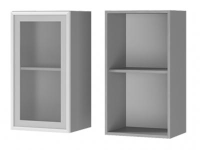 Шкаф настенный 1-дверный со стеклом 400х720х310 4В2 БТС МДФ