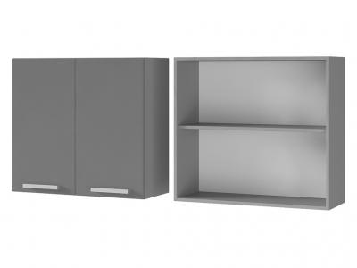 Шкаф настенный 2-дверный 800х720х310 8В1 БТС МДФ