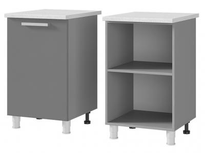 Шкаф-стол рабочий 1-дверный 500х820х600 5Р1 БТС МДФ