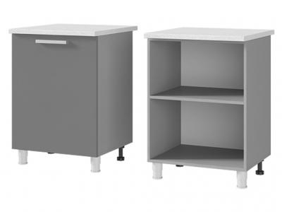 Шкаф-стол рабочий 1-дверный 600х820х600 6Р1 БТС МДФ