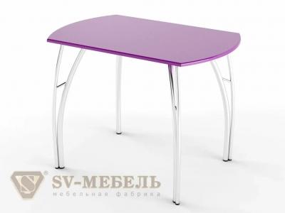 Стол обеденный МДФ СВ Фиолетовый